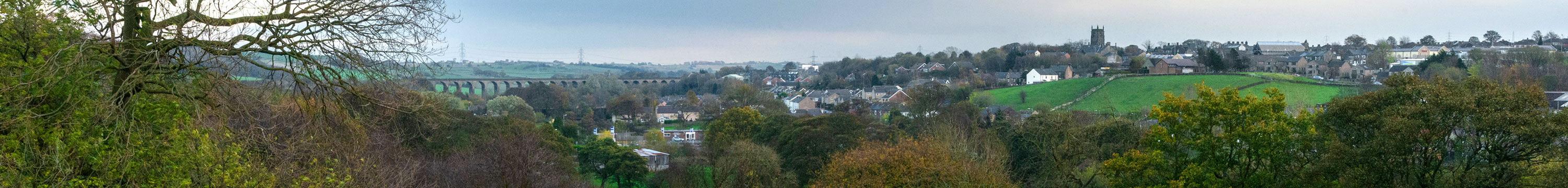 View of Penistone from Huddersfield Road area