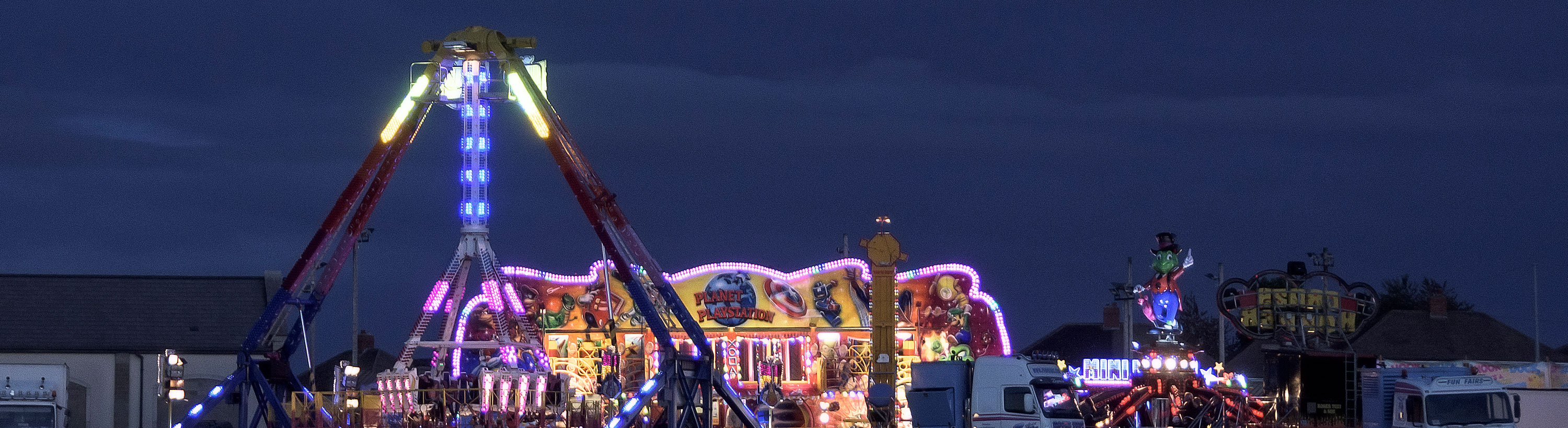 Funfair at Penistone Rec