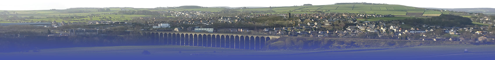 Penistone Viaduct from Barnsley Road