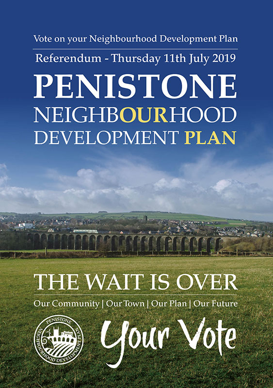Penistone Neighbourhood Development Plan leaflet 2019
