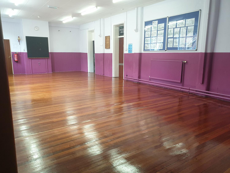 Hall after refurbishment